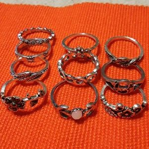 3X$20 FASHION RINGS SET